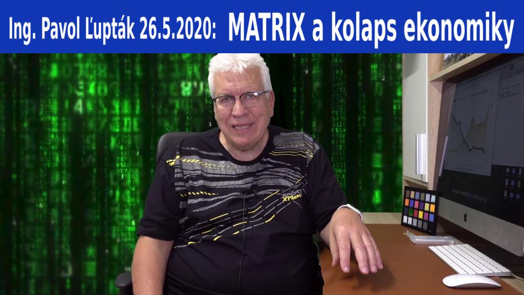 Matrix a kolaps ekonomiky