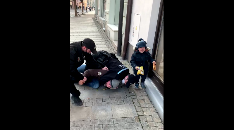 Zásah MP v Uherském Hradišti