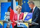 Ursula von der Leyen přijela do Prahy podpořit pád Andreje Babiše